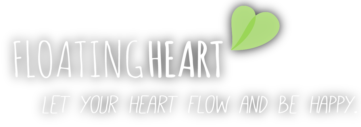 LOGO und CLAIM FLOATINGHEART